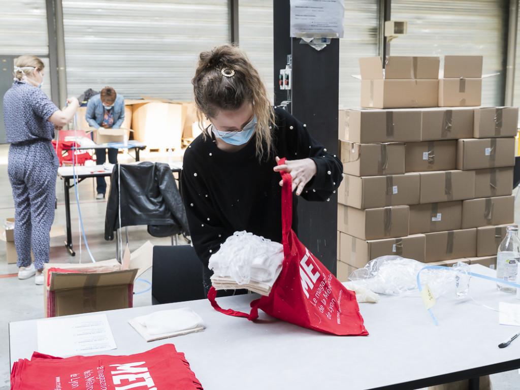 Masques : les kits de couture sont envoyés !