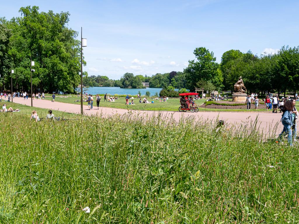 Dans les parcs, l'heure est à la détente !