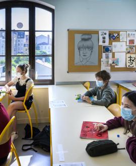 Collèges : les élèves ont retrouvé leur salle de classe
