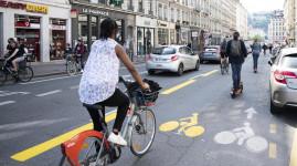 Vélo : la Métropole adapte les pistes temporaires