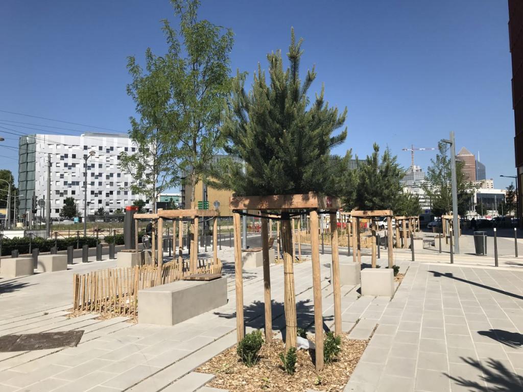 Part-Dieu : le point sur les travaux des espaces publics