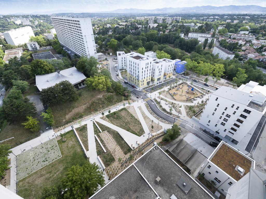 Jardin des belvédères : sortie en famille à la Duchère