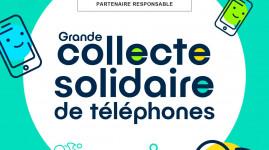 Grande collecte solidaire de téléphones cet été