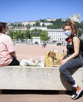 Le masque désormais obligatoire à Lyon et Villeurbanne