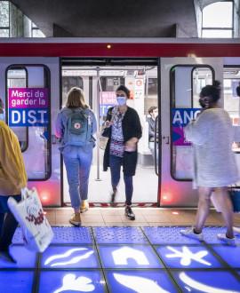 Métros, bus et trams pendant les vacances