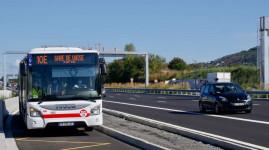 Un bus express entre Dardilly et Lyon sur la M6