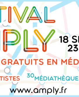 Amply : concerts gratuits en médiathèques