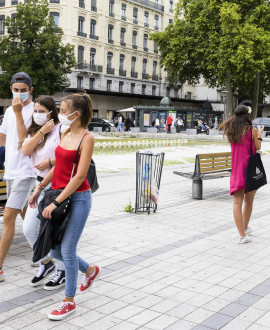Lyon et Villeurbanne : le port du masque reste obligatoire