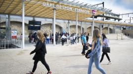 Gare Perrache : une nouvelle entrée place des Archives