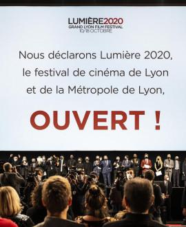 Ils et elles déclarent le festival Lumière ouvert !