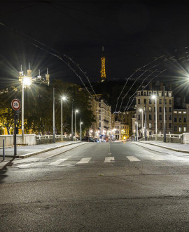 Le couvre-feu avancé à 18h dans la Métropole de Lyon
