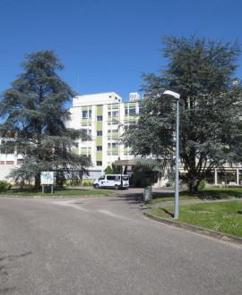 Un centre d'hébergement d'urgence à l'hôpital Charial de Francheville