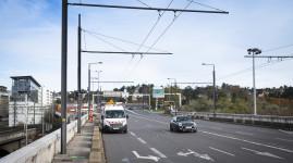 Pont Poincaré : une voie vélo et bus entre Caluire et Lyon