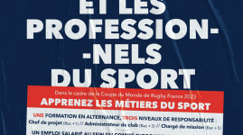 Formez-vous aux métiers du sport pour la coupe du monde 2023