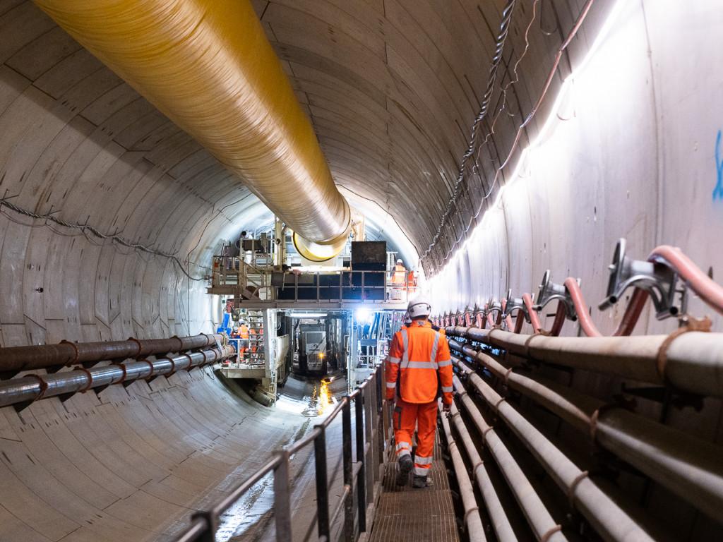 Déjà 1 km : le chantier du métro B avance vite