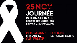 Violences contre les femmes : mobilisés pour en finir !