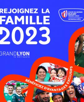 Coupe du monde de rugby 2023 : 5 matchs à Lyon, dont la France