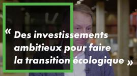 Bruno Bernard : 'des investissements ambitieux pour faire la transition écologique'