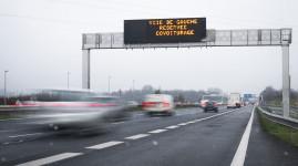 La verbalisation démarre le 18 janvier sur les voies covoiturage M6-M7