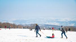 Neige sur la métropole : retour en images sur un week-end blanc