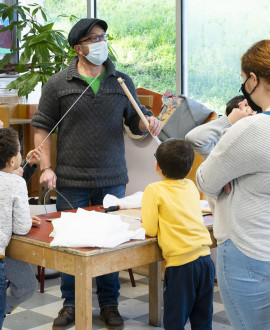 Des ateliers autour de la nature pour les enfants de l'Idef