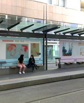 Les musées exposent leurs œuvres dans les transports en commun
