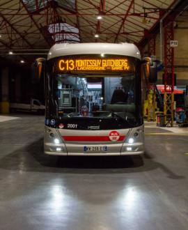 Les trolleybus nouvelle génération débarquent sur la ligne C13
