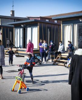 Hébergement d'urgence : des tiny houses pour les mères isolées