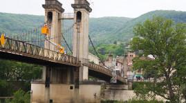 Décryptage : comment les équipes inspectent le pont de Couzon ?