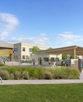 Le collège Alain à Saint-Fons va être rénové totalement