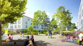 Dardilly : le nouveau quartier de l'esplanade prolonge le centre-ville