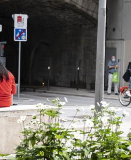 La piste cyclable sous la gare de Perrache est ouverte !
