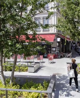 Parc Saint-Antoine : une étape clé pour les terrasses de la Presqu'île