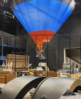 Recyclage des expositions au musée des Confluences
