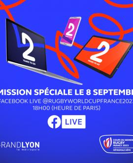 Coupe du monde rugby 2023 : une émission sur Facebook pour tout savoir