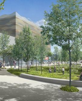 Saint-Genis-Laval : le chantier des accès au métro B démarre