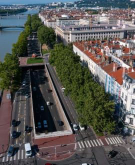 Lyon Presqu'île : un nouveau projet pour apaiser la rive droite du Rhône