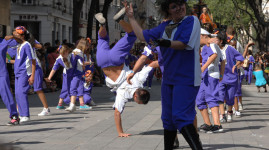J-6 pour le défilé de la Biennale de la danse
