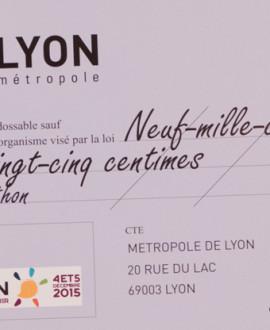 Un chèque de 9000 euros pour le téléthon