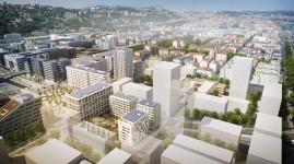 Avec l'îlot B2, le projet Lyon Confluence dans une nouvelle phase