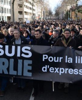 Lyon est Charlie : 330 000 personnes ont défilé le 11 janvier