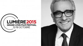 Scorsese en vedette du Festival Lumière 2015 !