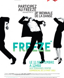 Biennale de la danse : un freeze à la Part-Dieu