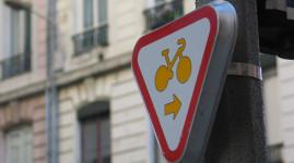 Vélos : une nouvelle signalisation