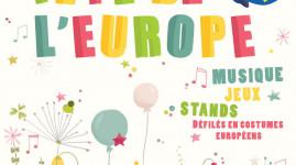 Le 9 mai, c'est la fête de l'Europe à Lyon !