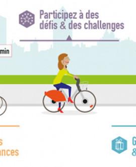 A vélo'v : mes trajets valent des points avec CitéGreen