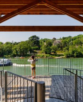 Rives de Saône : marcher, toucher, voir