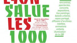 Lyon la Duchère : salut les mille !