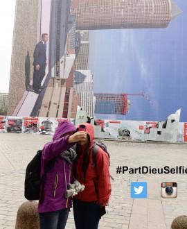 Concours photo : un selfie renversant