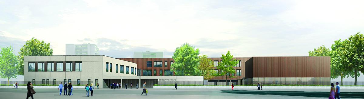 Le nouveau collège André Lassagne sera livré à la rentrée 2019